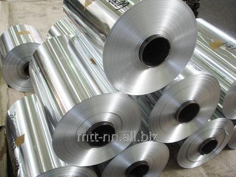 Лента алюминиевая 40x2 по ГОСТу 13726-97, марка АД