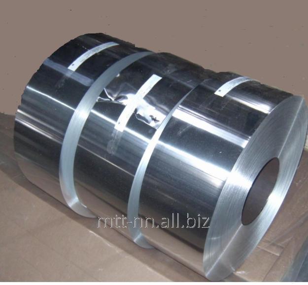 Лента алюминиевая 40x2 по ГОСТу 13726-97, марка АД1