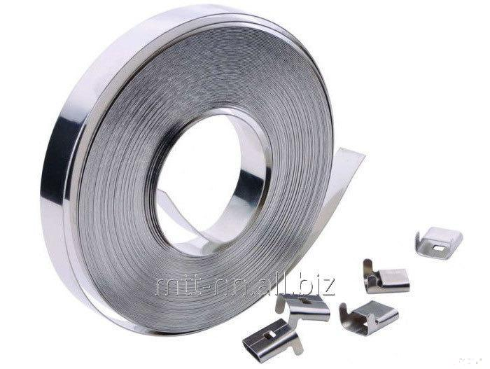 Buy Tape stainless steel 0.05 08x18h10, GOST 4986-79