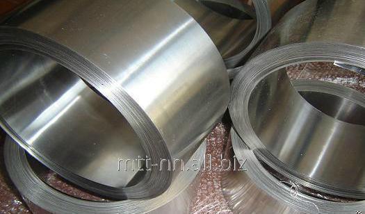 Buy Tape stainless steel 0.05 08Х18Н10Т, GOST 4986-79