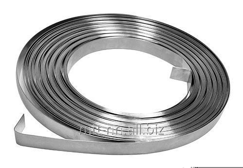 Buy Tape stainless steel 0.05 12H25N16G7AR, GOST 4986-79