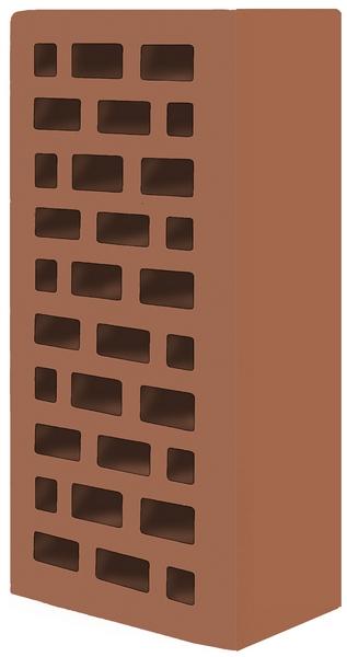 Кирпич строительный облицовочный 250х120х65