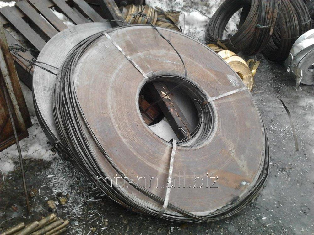 Купить Лента стальная 0,24 пружинная, по ГОСТу 2283-79, сталь 65Г, У8А, 60С2А