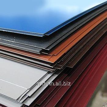 Купить Лист с полимерным покрытием 1,5 по ГОСТу Р 52146-2003, 14918-80, рулон