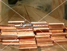 Полоса латунная 116x2.2 по ГОСТу 5362-78, марка Л68