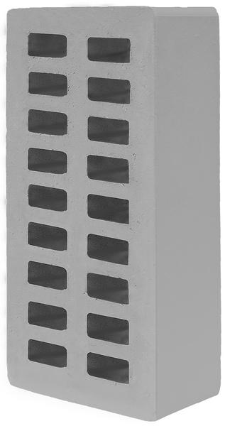 Кирпич фасадный облицовочный Одинарный 250х120х65