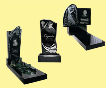 Надгробные памятники из ненатурального камня