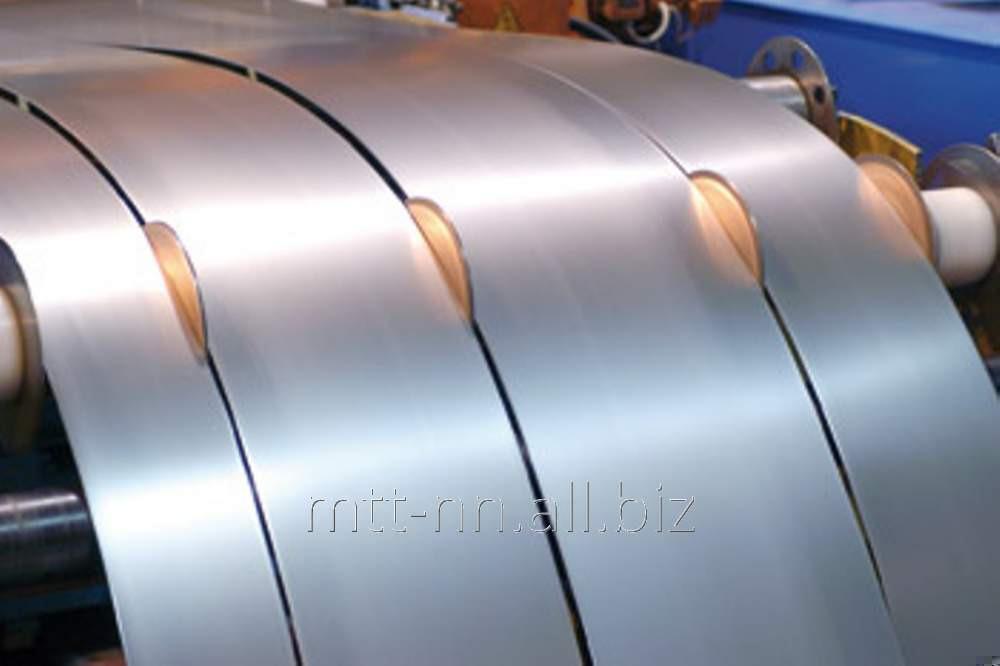 Полоса нержавеющая 20x1 холоднокатаная, сталь 20Х13, 30Х13, 40Х13, жаростойкая, ГОСТ 103-2006