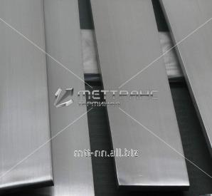 Полоса нержавеющая 20x1.5 холоднокатаная, сталь 12Х18Н10, 08Х18Н10, AISI 304, пищевая, ГОСТ 103-2006