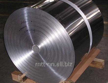 Şerit Paslanmaz 22 x 1.1 soğuk haddelenmiş çelik 12Х18Н10Т, 08Х18Н10Т, AISI 321, gıda, GOST 103-2006