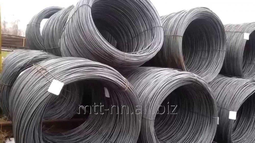 Buy Wire knitting EPOC 0.18, steel 08kp, 10kp, 10ps, GOST 3282-74