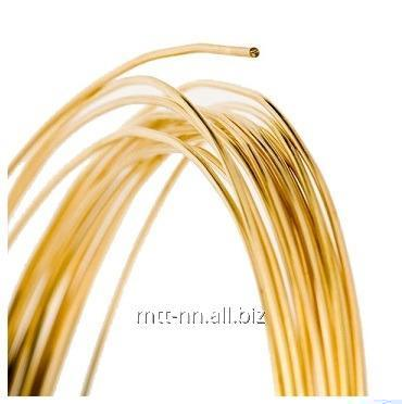 Buy Brass wire Stael 2.35 l 63, according to GOST 12920-67