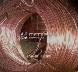Проволока медная 0,5 для низкотемпературных термопар по ГОСТу 22666-77, марка М1Е, арт. 50527125