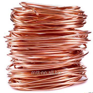 Comprar El alambre de cobre 5 kreshernaya por el GOST 4752-79, la marca М0б, el arte. 50527116