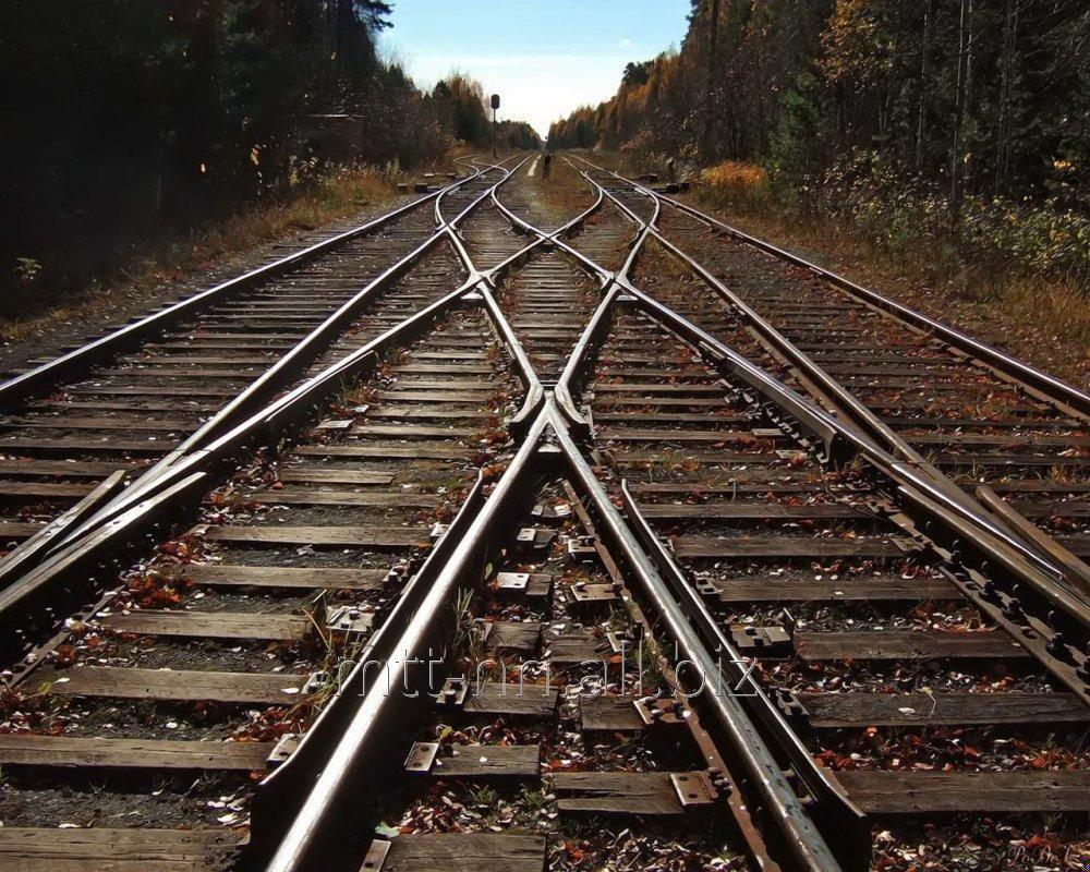 Купить Рельсы железнодорожные Р11, ГОСТ 6368-82, лежалые с гос резерва, термоупрочненные, мерной длины