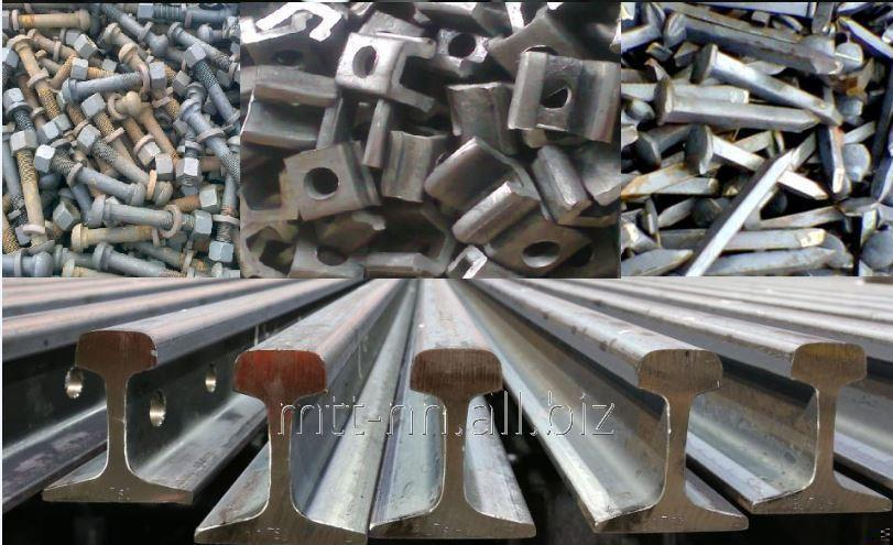 Buy R 43 Rails, GOST 7173-54, stale with State reserve, termouprochnennye, length