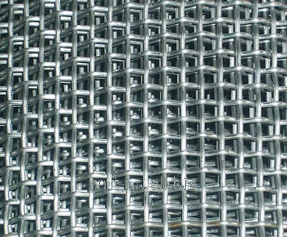 Сетка тканая 9x9 по ГОСТу 3826-82, сталь 3сп5, 10, 20