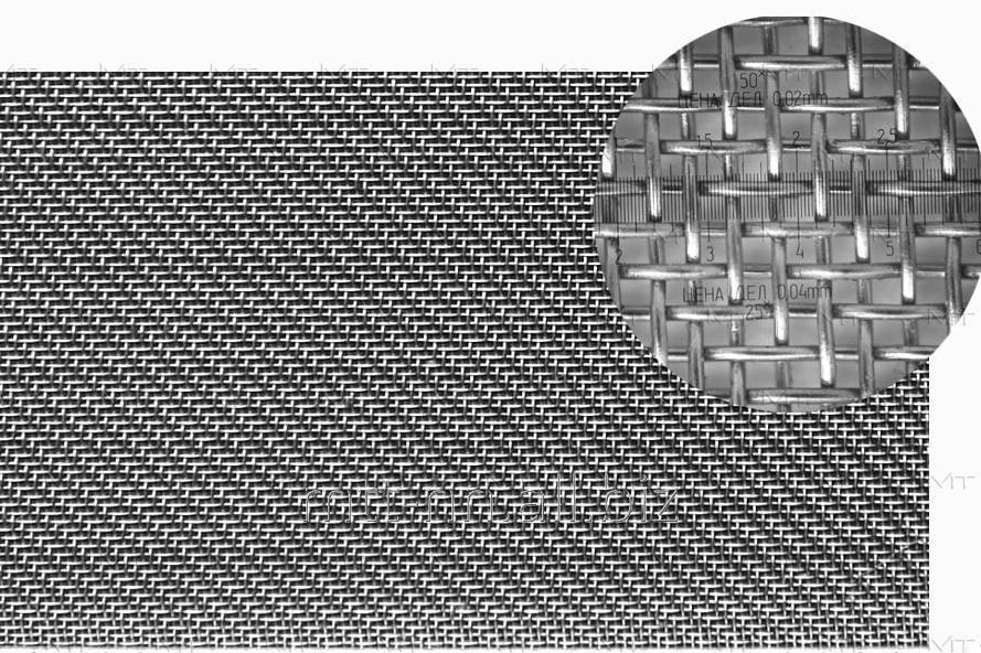 Сетка тканая нержавеющая 0.8x0.8 сталь 12Х18Н10Т