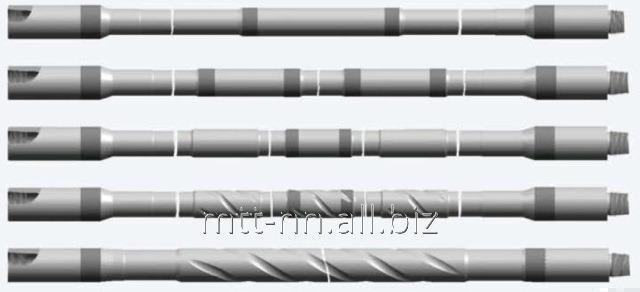 Труба бурильная 73x9 класс Р, ГОСТ 631-75, с высаженными наружу концами