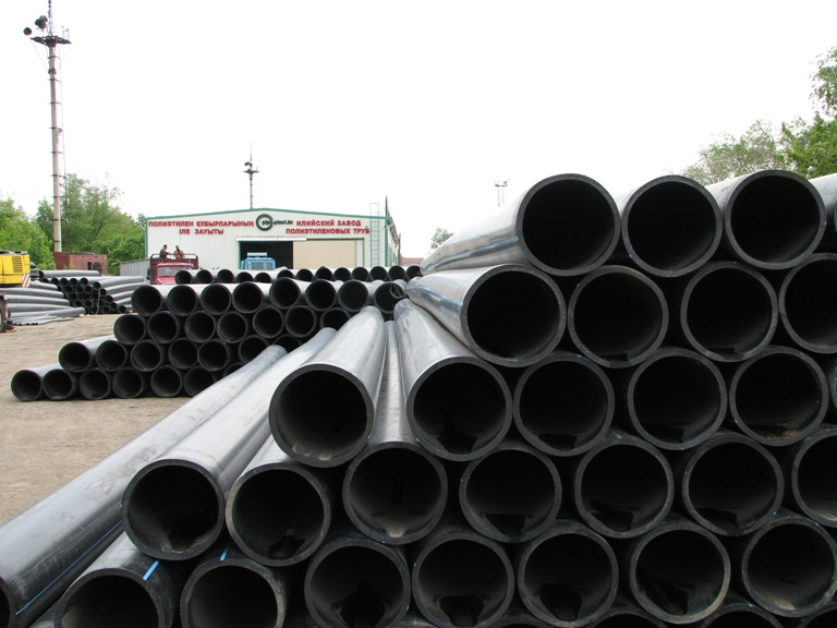 Buy Pipes polyethylene for water supply, the Pipe polyethylene pressure head