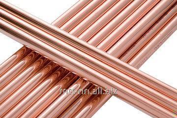 Труба медная 8x1 по ГОСТу 617-2006, марка М2, арт. 50538633