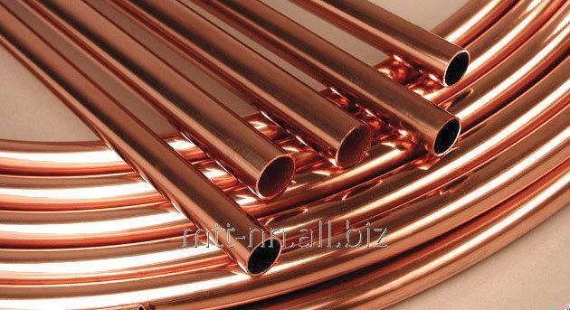 Comprar El tubo de cobre 9x1.5 por el GOST 617-2006, la marca М1р