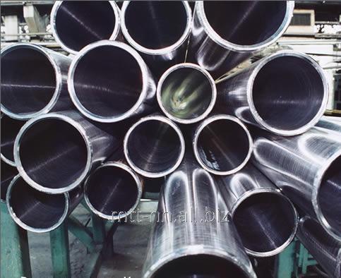 RVS leidingen 4 x 0,2 naadloze, osobotonkostennaja, 12Х18Н10Т, 08Х18Н10Т, AISI 321, volgens GOST 10498-82, geschuurd, gepolijst, mirror