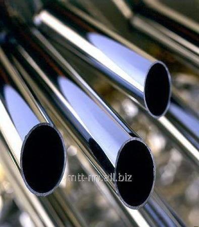 Труба нержавеющая 5x0.3 бесшовная, холоднодеформированная, сталь 08Х17Т, 08Х13, 15Х25Т, 12Х13, AISI 409, 430, 439, 201, по ГОСТу 9941-81, шлифованная, полированная, зеркальная