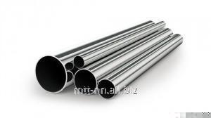 Rozsdamentes cső 6 x 1 hideg, varrat nélküli acél 20H23N13, 08H21N6M2T, stb, GOST 24030-80, Matt szerint