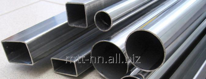 Buy Profile pipes 10x10x1 square, GOST 8639-82, steel 09Г2С, winsteel