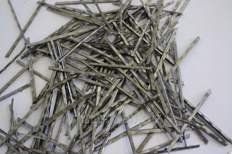 Buy Фибра из проволоки 0.56x30 ТУ 1221-002-95751815-2009, сталь 08кп, 10, 15, 20, ФЛГ