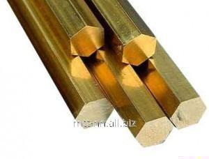Купить Шестигранник бронзовый 32 по ГОСТу 6511-60, марка БрОЦ4-3