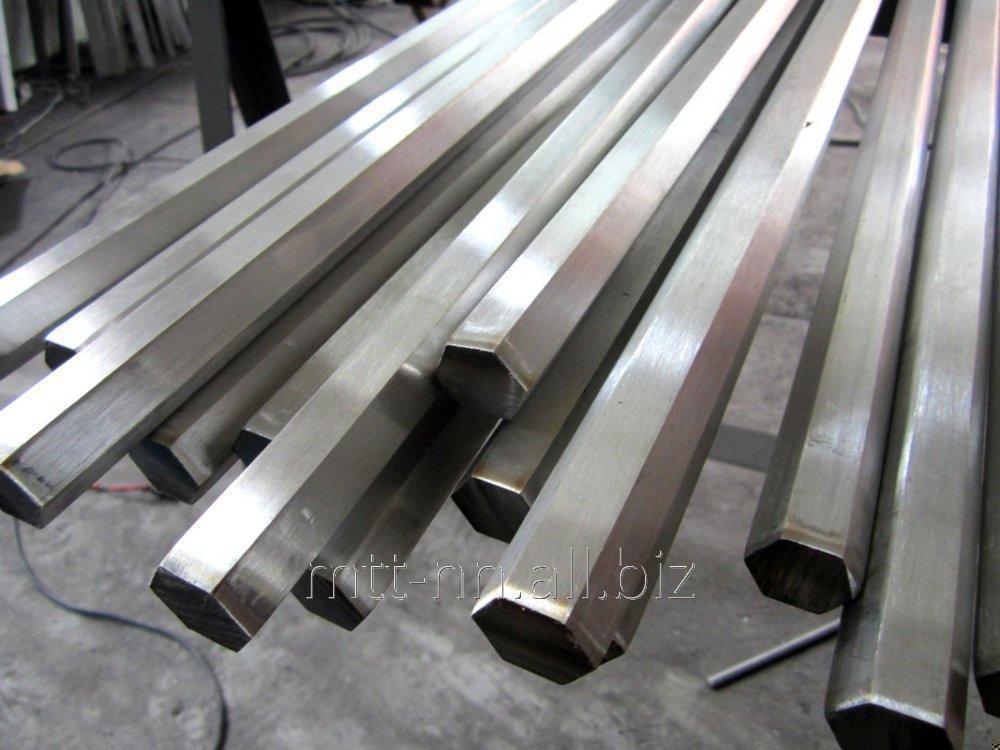 Купить Шестигранник стальной 103 горячекатаный, сталь 35, 40, 45, 50, 55, ГОСТ 2879-2006