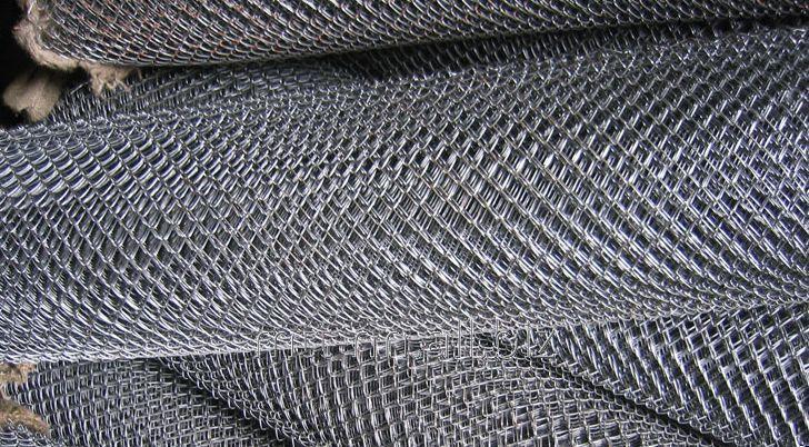 Сетка рабица 80x80 оцинкованная, раскрой 1.5х10, арт. 50551341