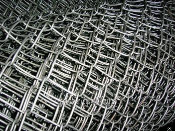 Сетка рабица 80x80 оцинкованная, раскрой 1х20, арт. 50551473