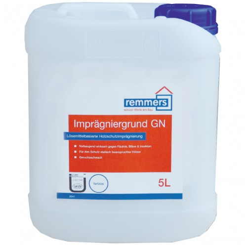 Buy The primer protective impregnating, Remmers Imprägniergrund GN, on the basis of solven