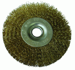 Buy Shchetka-kratsovka, circular, with a copper covering, 50 mm
