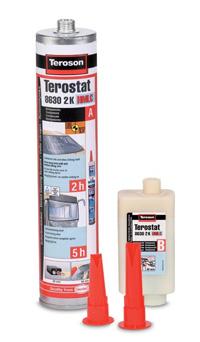 Купить Клей для а/стекол, Terostat PU 8630 2K HMLC, 310 мл.