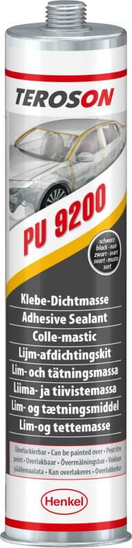 Купить Шовный клей-герметик, черный, Teroson PU 9200 Black