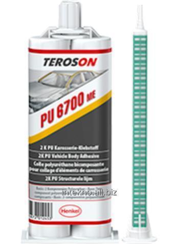Купить Конструкционный двухкомпонентный ПУ, жесткий, Teroson PU 6700