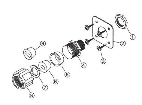 Устройство для ввода кабеля под теплоизоляцию LEK/U ССТ
