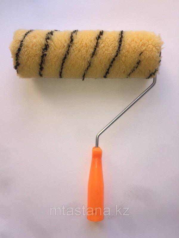 Валик малярный, фасадный Радуга с ручкой, 250 мм (40)