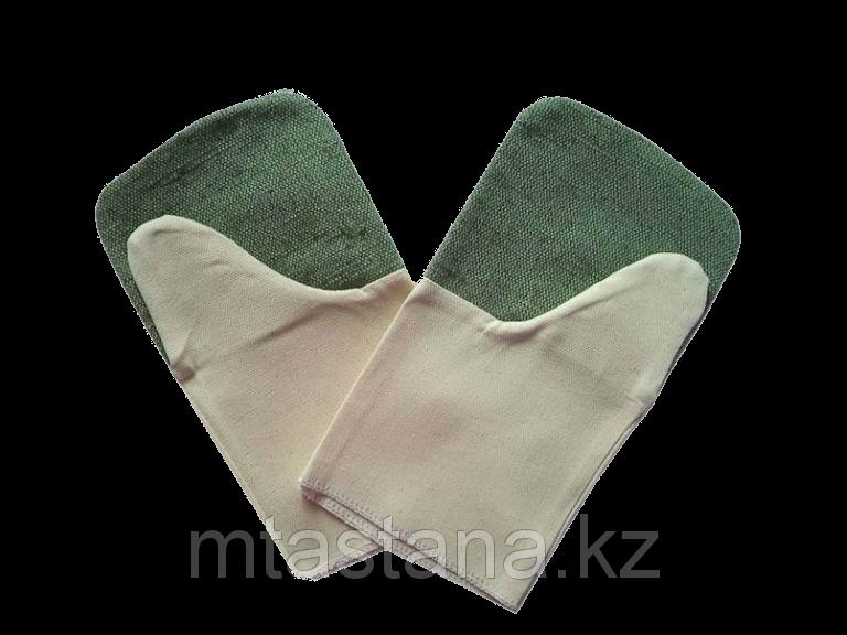 Галицы (рукавицы) брезентовые (2 нити) двупалые сварочные