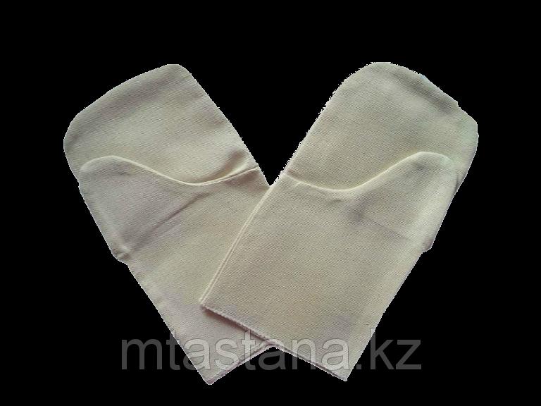 Галицы (рукавицы) брезентовые (2-нити) двупалые сварочные