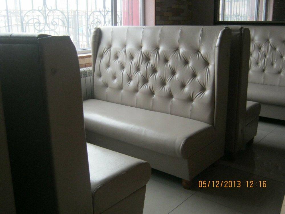 мягкая мебель на заказ диваны и кресла для кафе и ресторанов