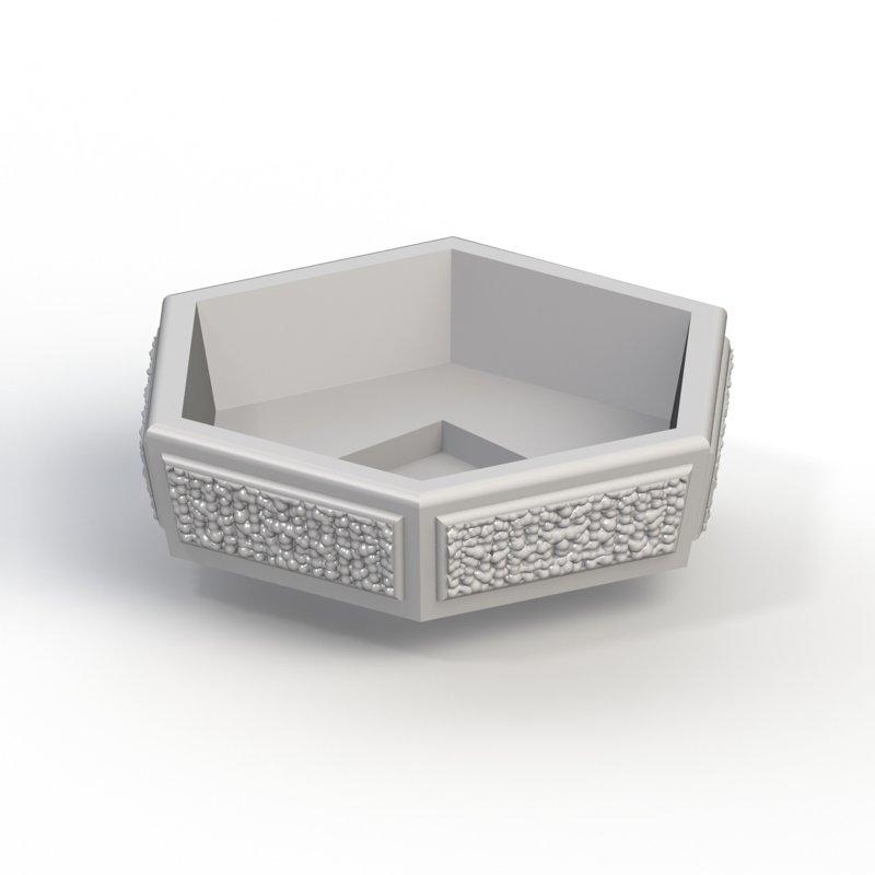 Купить железобетонная вазу 1м железобетонное кольцо