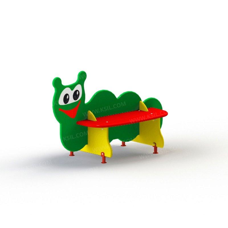 Скамейка детская Гусеница 2405