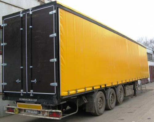 Tents for trucks, Tailoring of tents of autotents of bed curtains on cargo cars of Almaty.