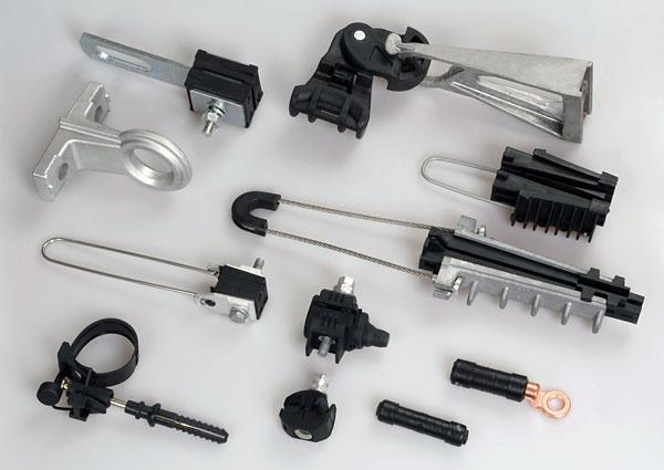 Купить Арматура для самонесущего изолированного провода Ensto (ЭНСТО), Высоковольтное и низковольтное оборудование, Электротехника