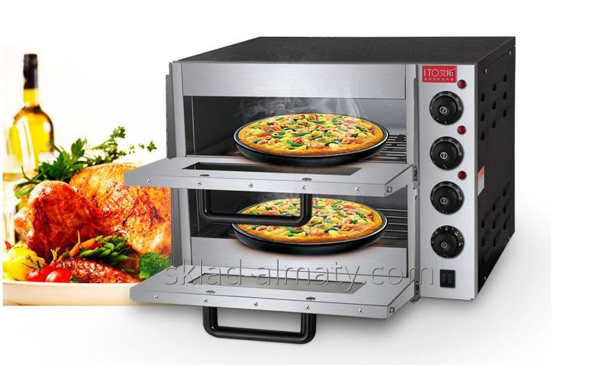 Пицца печь двойная